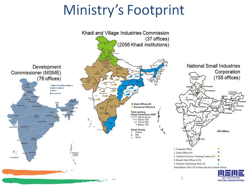 Ministry's Footprint