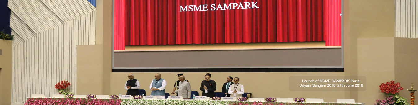 Launched MSME Sampark at 27th June 2018