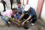 Shramdan by Senior Officer for Swachchta in Bal Sahyog Kendra, New Delhi