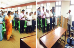 Taking Pledge in Head Office, Day 5