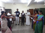 Swachhta Pakhwada by taking Swachhta pledge held on 1st Dec, 2017 at KVIC, Coimbatore