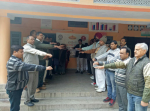 Swachhta Pakhwada by taking Swachhta pledge held on 1st Dec, 2017 at KVIC, Ambala Cantt. (Harayana)