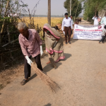 (after cleaning at Barabodia village, Cuttack on 5.12.2017)