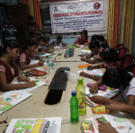 Painting Competition on Swachh Bharat Mission held on 02.12.2017 on the occasion of Swachhta Pakhwada, Cuttack
